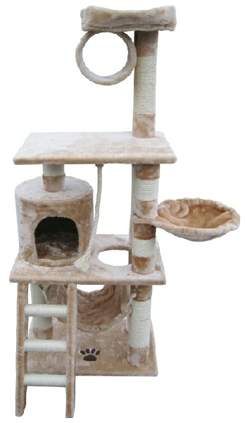 Ottawa Cat Tree Condo Beige
