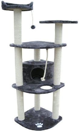 Victoria Cat Tree Condo Littlewhiskers