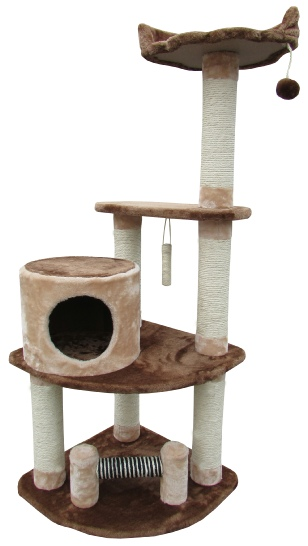 St. John's cat tree condo littlewhiskers