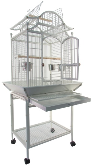 Bird Cage B023-white display